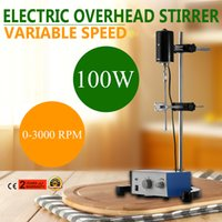 5.2kg.cm overhead stirrer - Electric Overhead Stirrer Mixer RPM Overhead Stirrer Mixer W Overhead Stirrer Minutes for Lab Mechanical Mixer