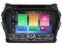 Wholesale Hyundai Navi - Navirider 2GB ram 32gb ROM octa core Android 6.0 Car DVD player GPS for HYUNDAI IX45 2013 SANTA FE stereo head units DVR RADIO 3G GPS NAVI