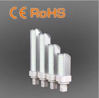 Wholesale G23 Base Led - E26 E27 G24 G23 GX23 Base PL Downlight 4w 6w 8w 10w LED Bulbs Plug Light