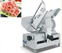 Wholesale Meat Slice Machine - 12 inch full automatic slicer mutton slicer commercial meat planing machine slicing machine carving machine for commercial beef LLFA