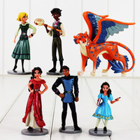 Wholesale Hot 14 Years Girls - Hot sale 6 pcs   lot Princess Elena from Avalor Sofia PVC Drawing toy as a gift for girls