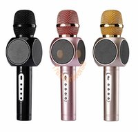 Wholesale Cheapest Speakers For Computers - Cheapest E103 Wireless Bluetooth Microphone Wireless Karaoke Handheld KTV Microphone For Iphone Samsung Mobile Outdoor Speaker