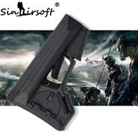 Wholesale Perfect Stockings - SINAIRSOFT Perfect Version Stock CARBINE buttstock With Rubber Pad for Airsoft AR15 M4 carbines using commercial-spec buffer tube Wargame