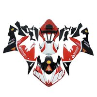 ingrosso yamaha r1 2006 rosso -3 omaggi completi Carene complete per Yamaha YZF 1000 YZF R12004 2005 2006 Injection Plastic Motorcycle Full Fairing Kit Rosso nero freddo o6