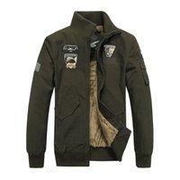 Wholesale Luxurious Palace - Wholesale- Luxurious Soft Shell Fleece Bomber Jacket Men Camo Jacket Windbreaker Coat Palace Army Jacket Plus Size 4XL Brand-Clothing H408