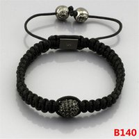 Wholesale High Quality Shamballa Bracelets - Hot Fashion Shambala Jewelry Rope Handmade High Quality Beaded Shamballa Bracelet for Men and Women the Best Gift
