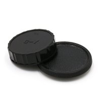 Wholesale Dslr Camera Body - Wholesale- 1Pair Camera Lens Body Cover + Rear Lens Cap Hood Protector For Contax Yashica C Y CY C-Y Mount DSLR SL