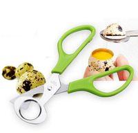 Wholesale Bird Opener - new Pigeon Quail Egg Scissor Bird Cutter Opener Egg Slicers Kitchen Tool Clipper