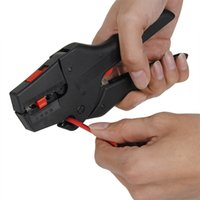 Wholesale tools range online - Best Price FS D3 Self Adjusting Pliers Insulation Tool for Stripping Wire Stripper Cutter Range mm Flat Nose Hand Tools