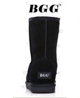 Wholesale Bgg Short - 2014 Classic short BGG style Womens snow boots Winter Fashion style Warm stable With certificate dust bag