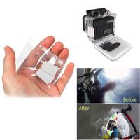 Wholesale Hero Anti Fog - Hot 12Pcs Anti-Fog Inserts For Xiao Mi yi Anti Fog Recycle Drying Inserts for Gopro Hero 4 3 2 SJ4000 Xiao Yi Accessories