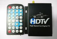 receptor tuner tv carro venda por atacado-12 V-24 V Carro HDTV Carro ATSC ATSC América Do Norte Caixa De Receptor de TV Digital Completa Um Seg Com Sintonizador de Antena de Controle Remoto