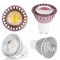 Wholesale Dimmable Candle Corn - Dimmable led lights lamp mr16 gu10 e27 led bulbs spot lights lamps 9w cob led lamp AC 110-240V   DC 12V