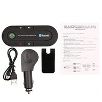Wholesale Module Car - Wireless Bluetooth Car Kit wireless bluetooth automatically reciever Handsfree receiver speakerphone module car electronics+ car charger