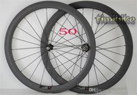Carbon Knife Highway Wheel Gruppo 50mm in fibra di carbonio Open Highway Bicicletta 700C Tire Fat Ring Ring 24 | 38 | 60 | 88