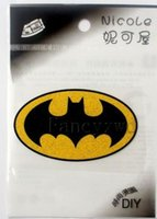 Batman T-Shirt Iron-on DIY Zubehör Patch Transfer Aufkleber 50pcs