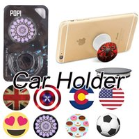 Wholesale Ipad Hook - Phone Universal Car Holder Fot iphone X iphone 7 Plus Home Hook Mount Cell Phone Holders Ipad Holder For Samsung S8