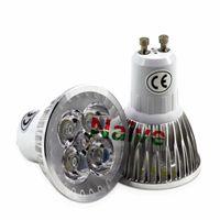 Wholesale Led Gu 15w - Super Bright 9W 12W 15W GU10 LED Bulbs Light 110V 220V Dimmable Led Spotlights Warm Cool White GU 10 Bombillas Led lamp light