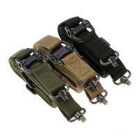 Wholesale Multi task tactical belt multi function strap camera strap with single point double dot strap safety rope