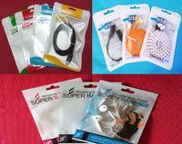 Wholesale Earphone Cases Zip - 10.5x 15cm Zip lock USB Cable Earphone Digital Accessories Case Headphone Cable Packing Bag OPP PVC Poly Plastic Packagage Bag