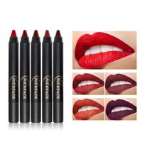 Wholesale Lipstick Shaped Pens - Hot New Style Lipstick In Pen Shape For Non-dizzy And Lasting Waterproof Lip Beauty Cosmetic Product