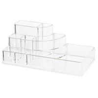 Wholesale transparent acrylic boxes - Wholesale- Organizer Storage Box Acrylic Cosmetic Display box for Makeup Storage transparent