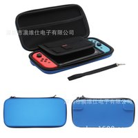 Wholesale Game Card Cartridge Case - Hgin quality carrying case EVA hard shell zip bag case For Nintendo Switch with 10 game card cartridge holder