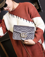 Wholesale Purple Cross Body Bag - New women Corduroy single shoulder cross body bag female evening bag black purple blue wine red grey color no62