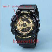 Wholesale Men S Wristwatch Digital Watch - 2017 top AAA Top men ga100 Sports led Watches LED Digital 110 Wristwatch Waterproof S Shock Watch 50m All function Work with Original Box