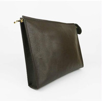 Wholesale Travel Toiletry Bags For Men - Free Shipping! New Travel Toiletry Pouch 26 cm Protection Makeup Clutch Women Genuine Leather Waterproof 19 cm Cosmetic Bags For Women 47542