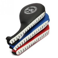 Wholesale Karate Kick Pads - Taekwondo Durable Kick PadSport Protecitive Target Tae Pad Cover Kwon Do Karate Kickboxing Fitness Random Color 37cmx17.5cmx6cm