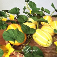 oriental fruits - Korean Oriental Yellow Sweet Fragrant Melon Seeds Super Sweet Easy to Grow Non GMO Heirloom Fruit for Summer Garden