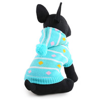 Wholesale Dog Clothes Coat Hoodies - Free shipping 2016 new arrivals warm dog clothes dog hoodies Autumn winter jacket coat for all dogs