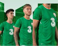 Men black camp shirts - Thai quality Republic of Ireland World Cup Ireland KEANE Daryl home T Shirts