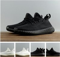 Wholesale Good Quality Women Socks - Good Quality SPLY-350 v2 Boost Kanye West Sneakers Hollow White Hollow Black 350V2 Boost Couple Street Shoes UK3-UK10 Send Socks