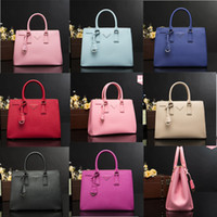 Wholesale Genuine Leather Crossbody Handbags - Famous Designer PAA Brand Bags Women Leather Handbags Genuine Leather Shopping Shoulder Crossbody Bags For Women Bolsas Feminina 2274