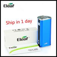 Wholesale Usb Cigarette Adaptor - E-leaf Istick 30w Battery E Cigarette Mod 2200mah With USB cable 510 adaptor retail package can do no logo VS Istick 75W