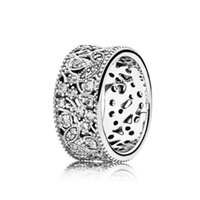 Wholesale Set Leaf Ring - Leaf ring in sterling silver 925 Rings Factory Wholesale Wedding Ring 190965CZ