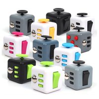 Wholesale Wisdom Kids Toys - 2017 New Fidget Cube Toys Magic Puzzles Gift Antistress Decompression Wisdom Toy Anxiety Novelty Stress Relief for Kids And Adults