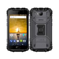 Wholesale american gps - Wholesale Waterproof Global USA American 4G Smartphone 5 Inch Android 7.0 Octa Core 6GB+64GB 16MP Fingerprint NFC 4700mAh Ulefone Armor 2