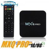 Wholesale Wholesale Box Hardware - rk3229 mxq pro 4K Ultimate HD kd 16.1 Android 6.0 kd pre loaded smart tv box 1gb 8gb Quad Core 2.0GHz Hardware Decoding WIFI Miracast