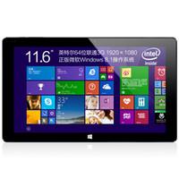 pc atom touch al por mayor-Venta al por mayor- 10.6 pulgadas Dual OS Windows10 Android 5.1 Cubo Intel Atom Z8300 iwork 11 iwork11 Stylus i8 T Tablet PC 4GB 64GB IPS 1920x1080 5MP