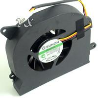 cables del ventilador del portátil al por mayor-Envío gratis para SUNON GB1207PGV1-A, 13.V1.B4337.F.GN DC 12V 2.4W 3 hilos 3 pines Servidor Laptop Fan