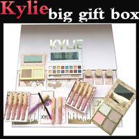 Wholesale Makeup Kits Box - 1pcs Kylie Vacation Edition Collection bundle Kylie Jenner Full Collection Vacation Limited Edition Makeup Kit Big Box Set Drop ship