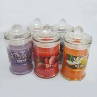 Wholesale Purple Flameless Candles - 25-30 Hours Scented Candles Jar Candle With A Variety Of Fragrance,Aroma Candle Paraffin Wax Aromatherapy Candles Product Code:75-1011
