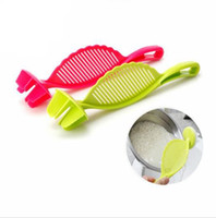 Wholesale Rice Wash - Rice Strainer Plastic Kitchen Tools Rice Beans Strainer Sifters Wash Gadget Tools Kitchen Clips Tools Kitchen Device Rice Filter KKA1930