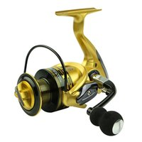 Wholesale Metal Gear Series - New Metal Rocker Fishing Rod Wheel Seris Baitcasting Fishing Reel Wheel 13+1Bearing Spinning Wheel Fishing Gear