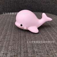 Wholesale Cute Dolphin Kids - 100Pcs lot Cute Dolphin Squishy Kawaii Whale Slow Rising Phone Straps Chain Kid Toy Soft Squeeze Relieve Scented Charm Fun Gift