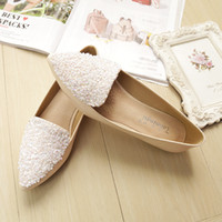 Woman Shoes Flat Loafers Bling Zapatos Mujer Ballet Flats Shoes Casual Slip em Sandals Pointed Toe Slides Confortável Raso Preto Alperce