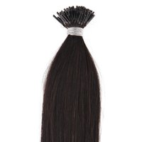 Wholesale tips for black hair online - Hot Sale Straight Unprocessed peruvian i tip Human hair extensions Brazilian human hair pre bonded hair extensions gram For Sale